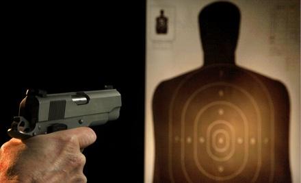 Shooting-Range Package for 2 (a $110 value) - Gilbert Indoor Range in Rockville
