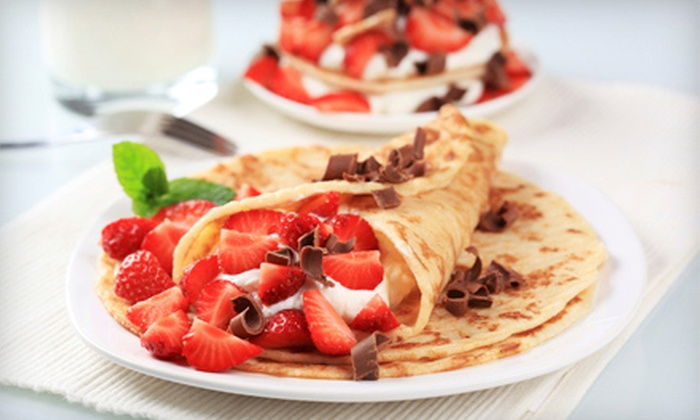 Sweet Spot - Brigadoon: $8 for $16 Worth of Crepes at Sweet Spot