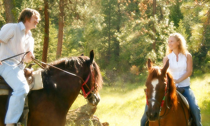 Bella Oaks Stables - Alhambra Valley: $199 for Private Horseback Ride and Picnic for Two at Bella Oaks Stables in Martinez ($450 Value)