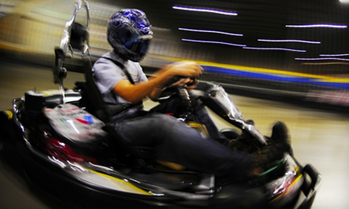 Fastkart Indoor Speedway - Millcreek: Go-Kart Outing and Pizza Monday–Thursday or Friday–Sunday at Fastkart Indoor Speedway in Salt Lake City