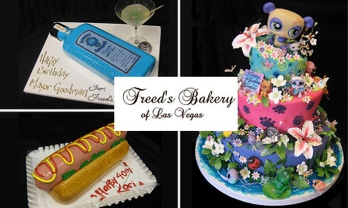 Freed's Bakery - Multiple Locations: $7 for $15 of Cakes, Cookies, and More at Freed's Bakery