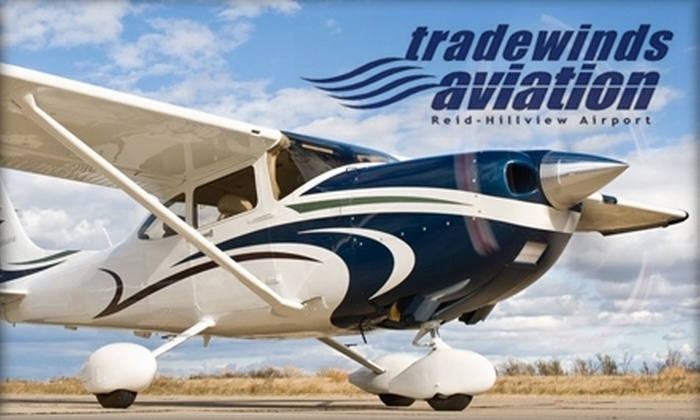 Trade Winds Aviation - Alum Rock: $125 for 12 Private-Pilot Ground Lessons at Trade Winds Aviation ($250 Value)