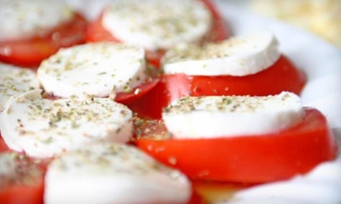 La Piccola Cucina - Coronado: $15 for $30 Worth of Mediterranean Fare and Drinks at La Piccola Cucina