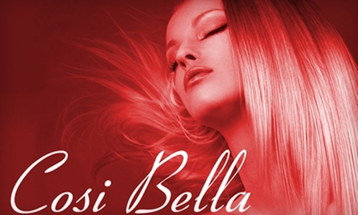 Cosi Bella Salon And Spa - Cranston: $30 For $75 Worth of Services at Cosi Bella Salon and Spa