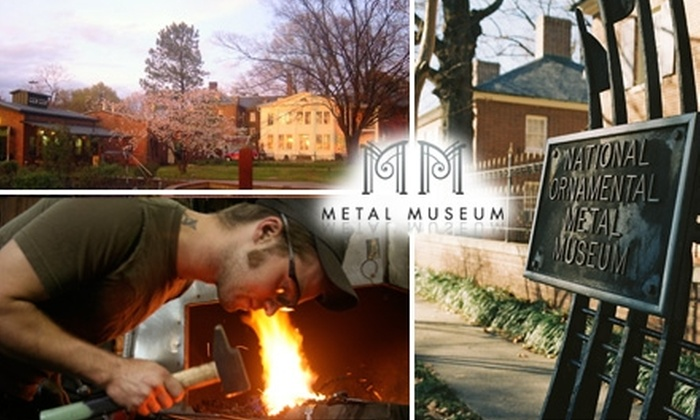 National Ornamental Metal Museum - French Fort Neighborhood Association: $20 for a One-Year Individual Membership and Three Guest Passes to the National Ornamental Metal Museum ($55 Value)