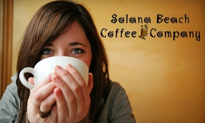 Solana Beach Coffee Company - Solana Beach: $7 for $15 Worth of Coffee, Tea, Breakfast, Lunch, and More at Solana Beach Coffee Company