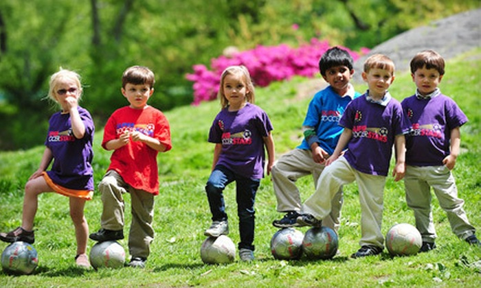 Super Soccer Stars - Multiple Locations: $55 for Three Kids' Summer Soccer Classes at Super Soccer Stars (Up to $110 Value)