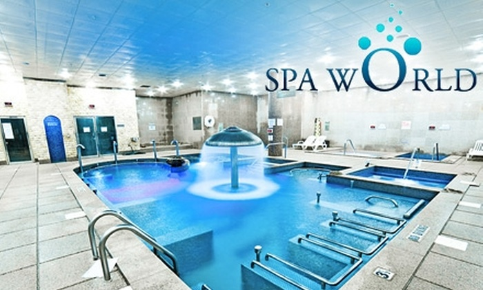 Spa World - Centreville: $15 for Bathhouse Day Pass at Spa World
