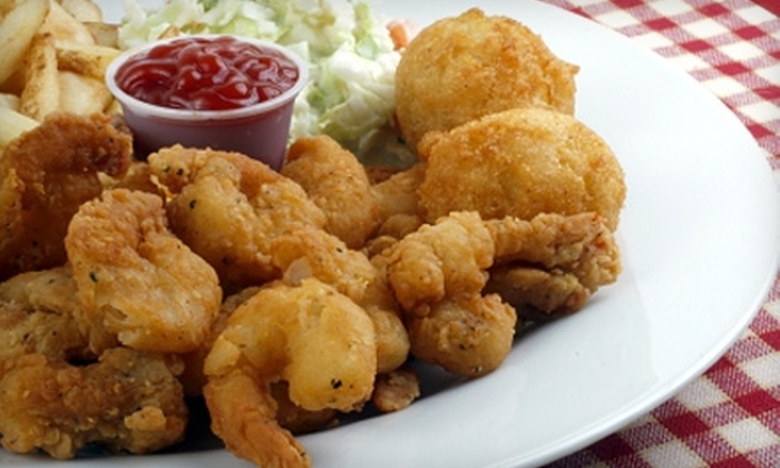 Val's Marina - Maurepas: $15 for $30 Worth of Fresh Seafood and Drinks at Val's Marina