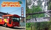 City Sightseeing San Francisco - Fisherman's Wharf: One $20 Ticket for the Muir Woods and Sausalito Tour at City Sightseeing San Francisco ($40 Value) or $15 for One Children's Tour Ticket ($30 Value)