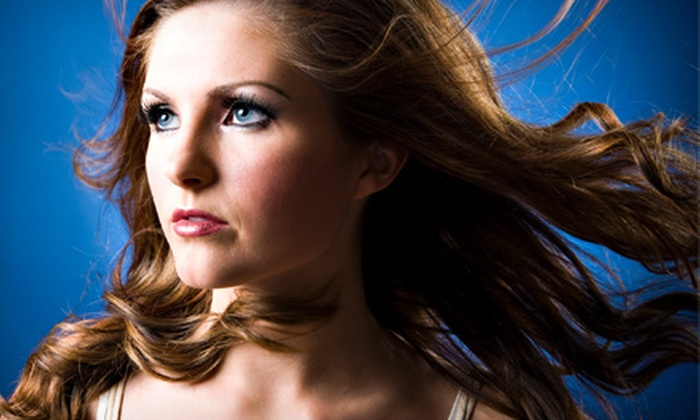 Canyon Salon and Spa - American River Canyon: Haircut with Optional Color Services or One Brazilian Blowout at Canyon Salon and Spa (Up to 72% Off)