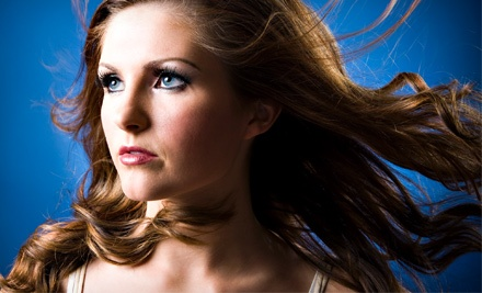 Haircut with Optional Color Services or One Brazilian Blowout at Canyon Salon and Spa (Up to 72% Off)