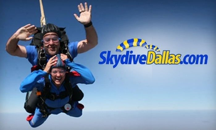 Skydive Dallas - Leonard: $149 Tandem Jump from Skydive Dallas (Up to $229 Value) in Whitewright, Texas