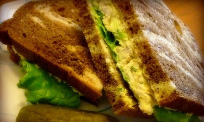 The Ruffled Feather - Downtown Kingston: $7 for $15 Worth of Upscale Deli Fare at The Ruffled Feather