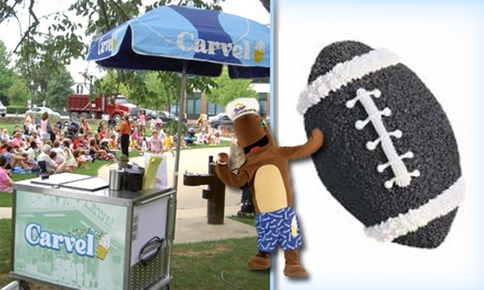 Carvel - Gaithersburg: $12 for a Large Football-Shaped Ice-Cream Cake From Carvel