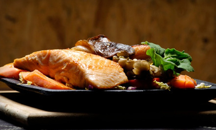 Mickey's Boathouse - Port Stanley: $30 for a Seafood Meal with an Appetizer and Entrees for Two at Mickey's Boathouse (Up to $66 Value)