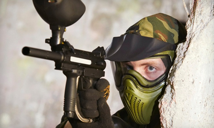 TNT Paintball - Metchosin: $20 for a Paintball Package with Lunch, Paintballs, and Equipment Rental at TNT Paintball ($40 Value)