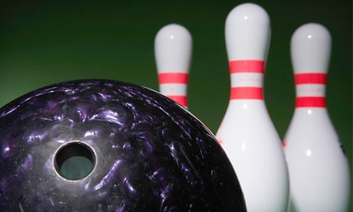 Suburban Lanes - Decatur: $19 for One-Hour Lane and Shoe Rental for Up to Six People, Plus a $5 Gift Card, at Suburban Lanes in Decatur (Up to $48.50 Value)