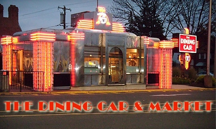 The Dining Car & Market - Torresdale: $7 for $15 Worth of Classic Diner Cuisine and Drinks at The Dining Car & Market