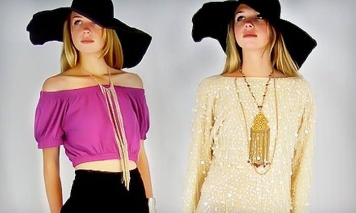 Minxy Boutique - Mission: $10 for $20 Worth of Vintage Apparel at Minxy Boutique