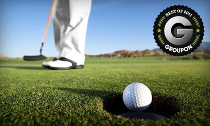 Pine Acres Par 3 & Driving Range - Spokane: $8 for Nine-Hole Golf Outing for Two at Pine Acres Par 3 & Driving Range (Up to $16 Value)