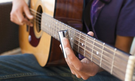 Two or Four Private 30-Minute Music Lessons at Woodbury Music Shop (45% Off)
