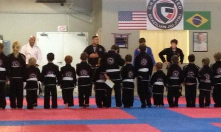 Four Weeks of Unlimited Brazilian Jiu-Jitsu Classes at Gracie United (46% Off)
