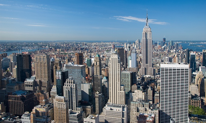 Owl Tours - Theater District - Times Square: Manhattan Tour for 1 or 2, or 4- or 8-Hour Private New York Tour for Up to 12 from Owl Tours (Up to 62% Off)