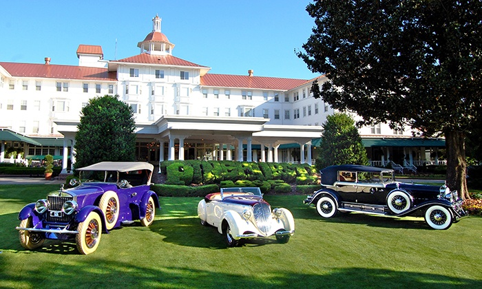 Pinehurst Resort - Pinehurst Resort : Admission to Pinehurst Concours Car Show and Commodores Concert on Saturday, April 30 (Up to 41% Off)