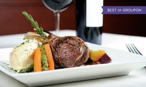 The Ranch House: Five-Course Romantic Dinner with Dessert and Optional Wine for Two at The Ranch House (Up to 48% Off)