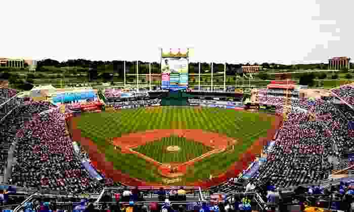 Kansas City Royals - Kauffman Stadium: Kansas City Royals Baseball Game at Kauffman Stadium on April 30, May 1, or May 4 (Up to 31% Off). Two Seating Options.