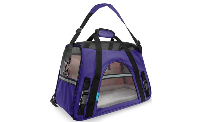 Soft Sided Airline Approved Travel Pet Carrier Groupon