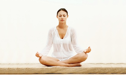 C$39 for One Month of Unlimited Yoga Classes at Vidya Yoga (C$125 Value)