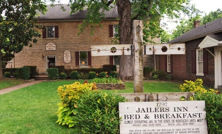 1-Night Stay for Two at Jailer's Inn Bed and Breakfast in Bardstown, KY. Combine Up to Four Nights.