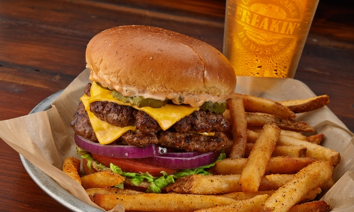 Freakin' Unbelievable Burgers - Farmington Hills: $13 for $20 Worth of Burgers, Chicken Tenders, and Sides at Freakin' Unbelievable Burgers
