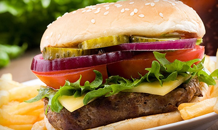 Dan's Downtown Tavern - Multiple Locations: Burgers and Drinks for Two or Four or $10 for $20 Worth of Pub Food at Dan's Downtown Tavern (Up to 52% Off)