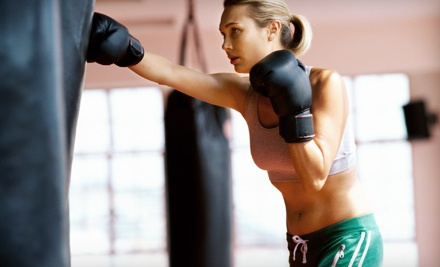 $39 for One Month of Unlimited Kickboxing Classes at Valor Martial Arts ($129 Value)