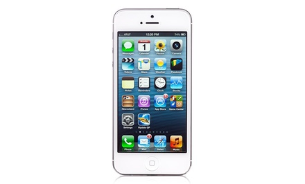 Apple iPhone 5 32GB in White (GSM Unlocked) (AT&T Recertified)