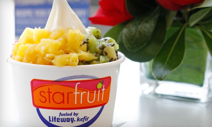 Starfruit - Multiple Locations: $10 for $20 Worth of Frozen Kefir Treats or $250 for Two Hours of Food-Truck Service at a Private Event from Starfruit