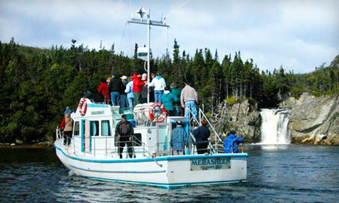 Woody Island Resort - Garden Cove: $40 for a Round-Trip Day Cruise of Placentia Bay with Wine and Lunch on September 12 from Woody Island Resort ($90 Value)