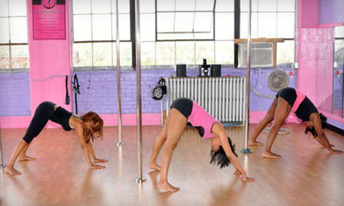 Pole Vixens Xtreme - Miami: 10 or 20 Drop-In Classes at Pole Vixens Xtreme (88% Off). Two Options Available.