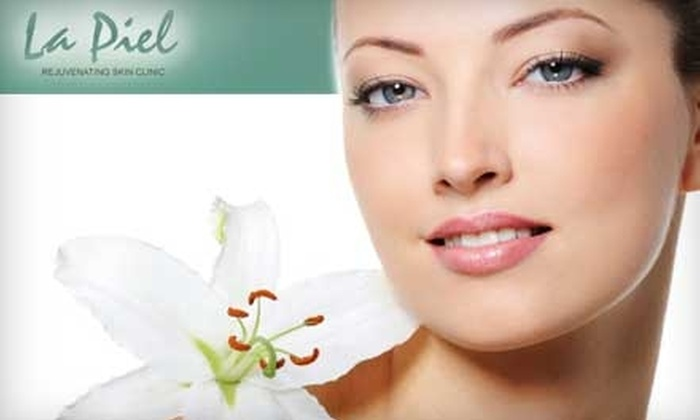 La Piel Rejuvenating Skin Clinic - Cedardale: $49 for a Relaxing Deluxe Facial at La Piel Rejuvenating Skin Clinic