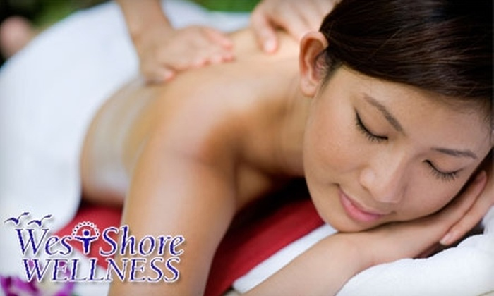West Shore Wellness - Warwick: $45 for a Full-Body Massage, Paraffin Hand Dip, Aromatherapy, and Head and Scalp Massage at West Shore Wellness in Warwick ($100 Value)