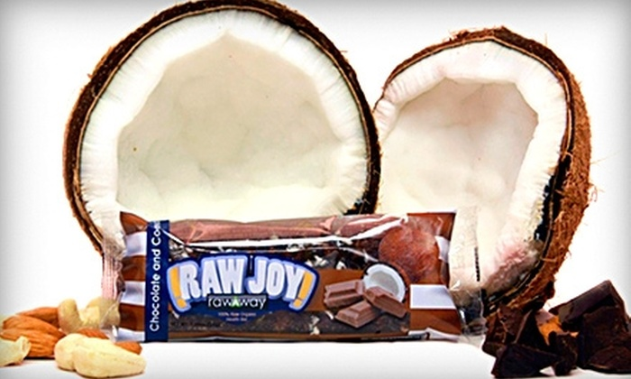 Raw Way: $15 for a 10-Bar Variety-Pack Box of Raw-Food Bars from Raw Way ($30 Value)