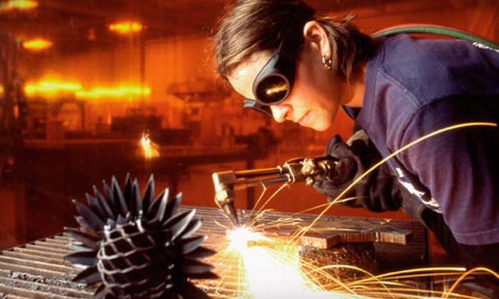 The Crucible - San Francisco: $239 for a Six-Hour MIG Welder and Plasma-Cutter Introductory Workshop at The Crucible in Oakland (Up to $550 Value)