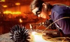 The Crucible - Acorn: $239 for a Six-Hour MIG Welder and Plasma-Cutter Introductory Workshop at The Crucible in Oakland (Up to $550 Value)