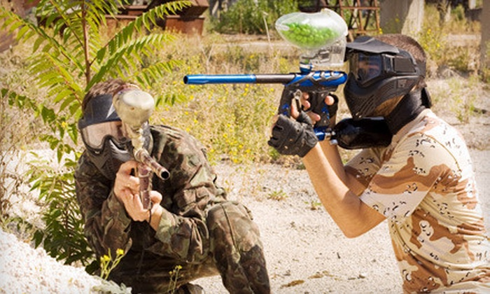 Spent Paintball - Laguna Park: All-Day Paintball-Outing Package for 2, 6, or 10 at Spent Paintball in West Palm Beach (Up to 61% Off)