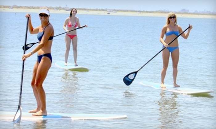 Adventure Water Sports - Multiple Locations: Standup Paddleboard Class or Kayak Rental from Adventure Water Sports. Three Options Available.