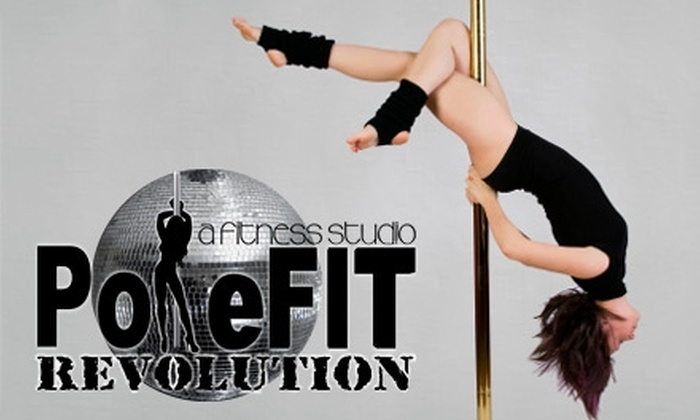 PoleFIT Revolution - Madison Heights: $25 for Five Fitness Classes or Two Aerial Yoga Classes ($60 Value), or $40 for Eight Fitness Classes ($96 Value) at PoleFit Revolution