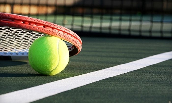 Seascape Sports Club - Aptos: $40 for a One-Hour Private or Semi-Private Tennis Lesson at Seascape Sports Club (Up to $90 Value)